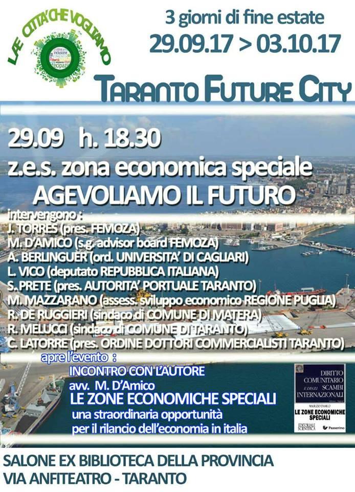 Locandina 29 settembre 2017 Taranto